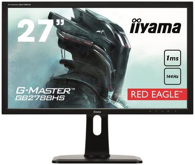 "LCD Monitor 27""  IIYAMA G-Master Red Eagle GB2788HS-B1 / FreeSync / 1ms / 144Hz / 300cd-m2 / 1000:1 / DP / DVI / HDMI / černá"