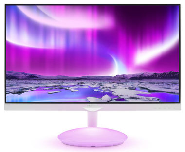 "LCD Monitor 27"" PHILIPS 275C5QHGSW / LED / 1920x1080 / 16:9 / 5ms / 1000:1 / 250cd-m2 / VGA+HDMI / VESA / Bílý"