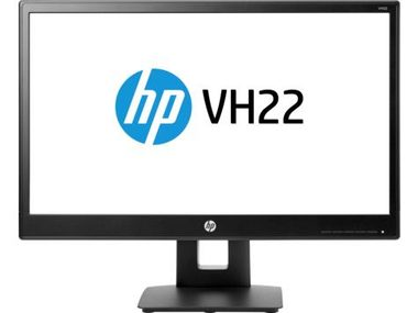 "LCD Monitor 21.5"" HP VH22 / TN / LED / 1920 x 1080 / 16:9 / 5ms / 1000:1 / 250cd-m2 / VGA+DVI+DP / USB / Pivot / Černý"