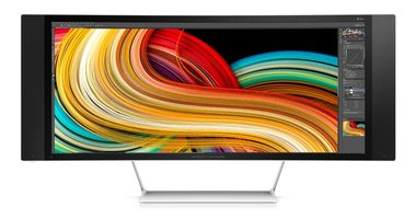"LCD Monitor 34"" HP Z Display Z34c Cuved / LED / 3440 x 1440 / 21:9 / 8ms / 3000:1 / 350cd-m2 / HDMI+DP / černá"