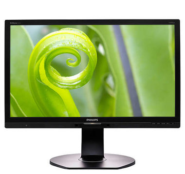 "LCD Monitor 22"" PHILIPS 221P6EPYEB-FHD / LED / 1920 x 1080 / IPS / 16:9 / 5ms / 1000:1 / 250cd / VGA+DP+DVI+USB / repro / Černý"