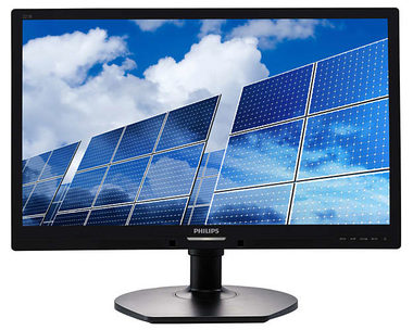 "LCD Monitor 22"" PHILIPS 221B6LPCB-FHD / TN LED / FHD / 16:9 / 5ms / 1000:1 / 250cd / DVI+VGA+USB / pivot / repro / Černý"