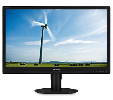 "LCD Monitor 22"" PHILIPS 220S4LYCB / TN LED / WSXGA+ / 16:10 / 5ms / 1000:1 / 250cd / VGA+DP+DVI / pivot / Černý"