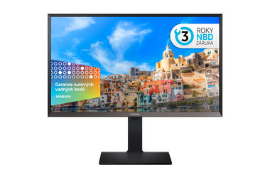 "LCD Monitor 32"" SAMSUNG LS32D85KTSR / LED / 2560 x 1440 / 16:9 / 8ms / 1M:1 / 300cd-m2 / HDMI + Display port / Černý"