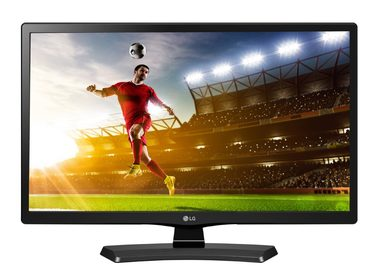 "LCD Monitor 24"" LG 24MT48DF / LED / TV tuner / 1366x768 / 1000:1 / 250cd / 5ms / HDMI / VGA / Scart / Černý"