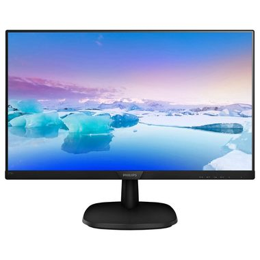 "LCD Monitor 27"" PHILIPS 273V7QSB černá / IPS LED / FHD / 16:9 / 8ms / 10mil:1 / 250cd-m2 / VGA / DVI"