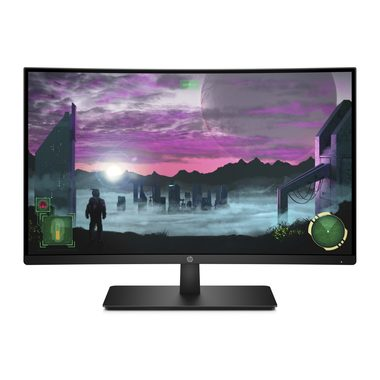 "LCD Monitor 27"" HP 27x Curved / VA / LED / 1920 x 1080 / 16:9 / 5ms / 3000:1 / 300cd-m2 / HDMI+DP"