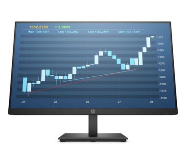 "LCD Monitor 23.8"" HP ProDisplay P244 / IPS / LED / 1920 x 1080 / 16:9 / 5ms / 1000:1 / 250cd-m2 / VGA+HDMI+DP / 60Hz / černá"