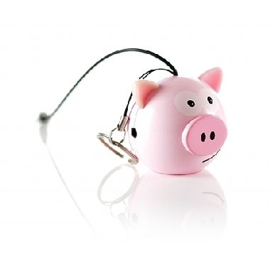 KitSound Mini Buddy Pig reproduktor / Jack 3,5 mm
