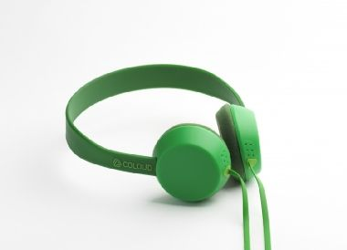 Coloud KNOCK Transition Green / 40mm / 20Hz-20kHz / 32 oHm / 3.5 jack / Zelená