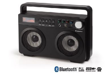 Audiosonic RD-1557 Soundblaster / Bluetooth / 2 x 15 W / FM / USB / SD /  černá