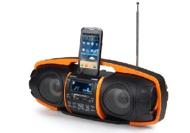 Audiosonic RD-1548 Beatblaster / Bluetooth / 2 x 10 W / FM / USB / MP3 / SD / černá