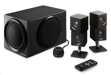 Creative repro ZiiSound T6 Series II 2.1 Wireless Bluetooth Speaker System / černé
