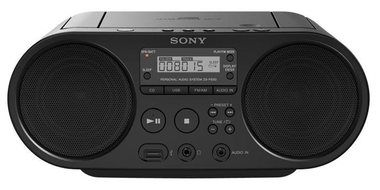 SONY mp3 a CD ZS-PS50CP / rádio / CD / MP3 / USB / AUX / černá