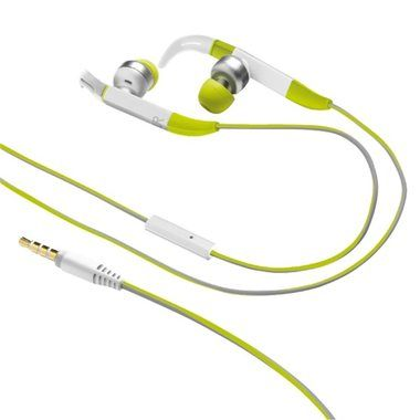 Trust Fit In-ear Sports Headphones / Sluchátka s mikrofonem / zelená