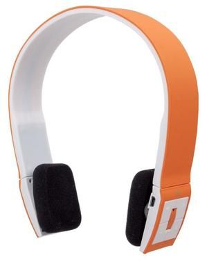 Manhattan FreeStyle / Bluetooth Stereo Headset / oranžová
