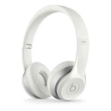 Apple Beats Solo2 On-Ear Headphones / drátová / mikrofon na kabelu / bílý