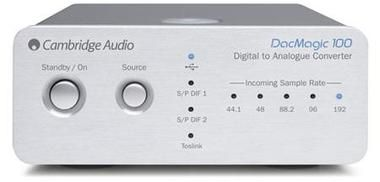 CAMBRIDGE AUDIO DAC MAGIC 100 / stříbrná
