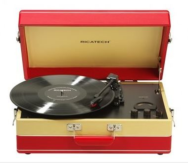 RICATECH Gramofon RTT95 Suitcase Turntable