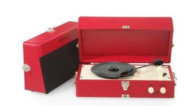 RICATECH Gramofon RTT80 Vintage Turntable Red