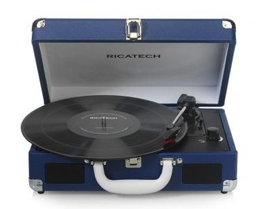 RICATECH Gramofon RTT68 Melbourne Navy Blue