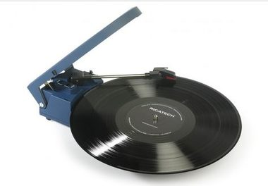 RICATECH Gramofon RTT22 Traveler turntable Blue