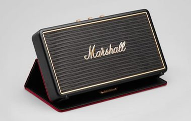 Marshall Stockwell Black + case / Bluetooth reproduktor / černá