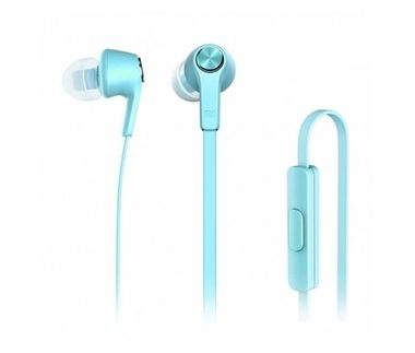 Xiaomi Mi In-Ear Headphones Basic Blue / Sluchátka s mikrofonem a ovladačem / 3.5 mm Jack / 1.25m