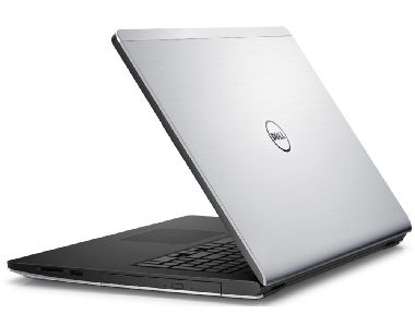"Notebook DELL Inspiron 17 (5748) / 17.3"" HD+ / Intel i3-4030U / 4GB / 500GB / DVD±RW / Intel HD 4400 / Win8.1 / stříbrná / 2YNBD"