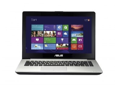 "Notebook ASUS VivoBook S451LA-CA141H / 14"" HD Touch / i5-4200U 1.6GHz / 4GB /  500+8GB SSHD / Intel HD / HDMI / Win8.1 / šedá /W"