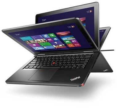 "Ultrabook LENOVO ThinkPad Yoga 12 / 12.5"" FHD / Intel Core i5-5200U 2.7GHz / 8GB / 256GB SSD / Intel HD 5500 / W7P+W8.1P"