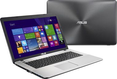 "Notebook ASUS K751LB-TY010H / 17,3"" / Intel Core i3-5010U / 1.5TB HDD / 8GB RAM / DVD RW± DL / NV GF 940M / W 8.1 / šedá"