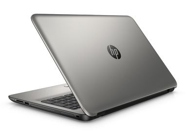 "Notebook HP 15-ac117nc / 15.6""HD / Intel Pentium N3825 1.9GHz / 4GB / 500GB / AMD R5 M330 1GB / DVDRW / W10 Home / stříbrná"