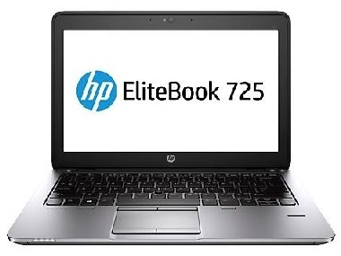"Notebook HP EliteBook 725 / 12.5"" HD / AMD Pro A10-7350B 2.1GHz / 4GB / 500GB / Radeon R5 / FpR / Win10P / černá"