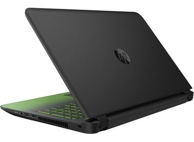 Notebook HP Pavilion 15-ak002nc Gaming Edition / i5-6300HQ 2.3GHz / 8GB / 1TB+128GB SSD / GTX 950M 4GB / Win 10 / černá