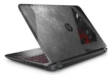 "Notebook HP Pavilion 15-an003nc Star Wars / 15.6""FHD / Intel Core i5-6200U 2.3GHz / 4GB / 1TB / DVD / Intel HD / W10 / černá"