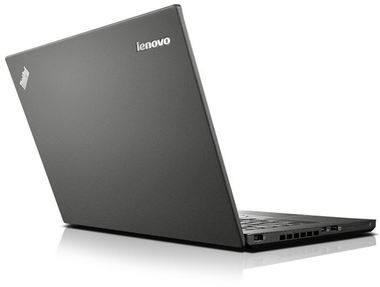 "Notebook Lenovo ThinkPad T450 / 14"" HD+ / Intel i5-5200U 2.7GHz / 4GB / 500GB+8GB / Intel HD 5500 / W7P+W10P / černá"