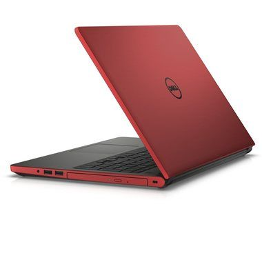 "Notebook DELL Inspiron 15 (5559) / 15.6""HD / Intel Core i5-6200U 2.3GHz / 4GB / 500GB / AMD R5M335 / W8.1 / červená / 2YNBD"
