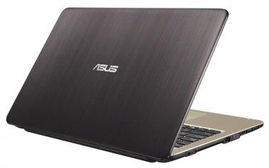 "Notebook ASUS F540SA-DM043T / 15.6"" FHD / Intel Pentium N3700 1.6GHz / 4GB / 1TB / Intel HD / DVDRW / W10 / černá"