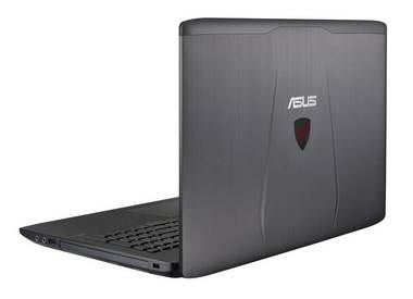 "Notebook ASUS ROG G552VW-DM344T / 15.6"" FHD / Intel Core i7-6700HQ 2.6GHz / 16GB / 1TB+256GB  / GTX 960M 4GB / DVDRW / W10 / šedá"