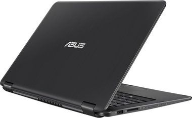 "Notebook ASUS Transformer Book Flip TP301UA-C4039R / 13.3""IPS Touch / i7-6500U 2.5GHz / 8GB / 512GB / Intel HD / W10P / černá"