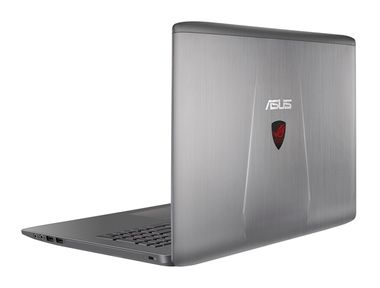 "Notebook ASUS ROG GL752VW-T4222T / 17.3""FHD / Intel Core i5-6300HQ 2.3GHz / 8GB / 1TB / GTX960M 2GB / DVDRW / Win10 / šedá"