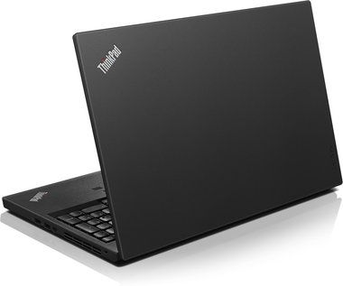 "Notebook Lenovo ThinkPad T560 / 15.6"" FHD / Intel i5-6200U 2.3GHz / 4GB / 500GB+8GB SSHD / Intel HD 520 / W7P+W10P / černá"