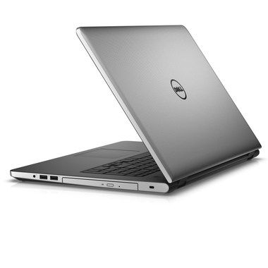 "Notebook DELL Inspiron 17 (5759) / 17.3"" FHD/ Intel Core i7-6500U / 8GB / 1TB / R5 M335 4GB / Win 10 / stříbrný / 2YNBD"
