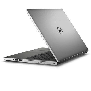 "Notebook DELL Inspiron 15 (5559) / 15.6"" HD / i5-6260U 1.8GHz / 4GB / 500GB / DVDRW / Intel HD / W10P / stříbrný / 3YNBD"