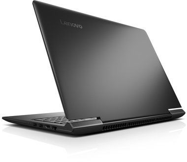 "Notebook Lenovo IdeaPad 700-17ISK / 17.3""FHD / Intel Core i7-6700HQ 2.6GHz / 8GB / 1TB+128GB SSD / GT940M 2GB /  W10 / Černý"