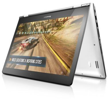 "Notebook Rozbaleno - Lenovo IdeaPad Yoga 500 / 14 FHD"" Touch / Intel Core i5-6200U / 4GB / 500GB+8GB / Intel HD / W10 / Bílý / rozbaleno"