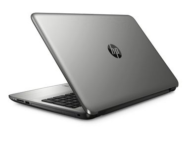 "Notebook HP 15-ay004nc / 15.6""HD / Intel Pentium N3710 1.6GHz / 4GB / 1TB / Intel HD / DVDRW / W10 / Stříbrná"
