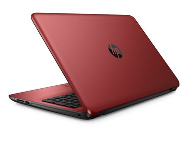 "Notebook HP 15-ay052nc / 15.6""HD / Intel Pentium N3710 1.6GHz / 4GB / 1TB / Intel HD / DVDRW / W10 / Červená"