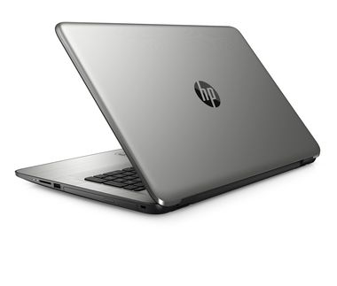 Notebook HP 17-x001nc / 17.3 HD+ / Intel Pentium N3710 1.6GHz / 8GB / 1TB / AMD Radeon R5 M430 2GB / DVDRW / Win 10 / Stříbrná